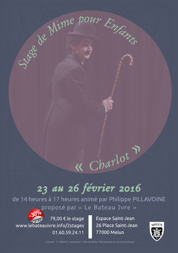 Stage de Mime pour Enfants | « Charlot »