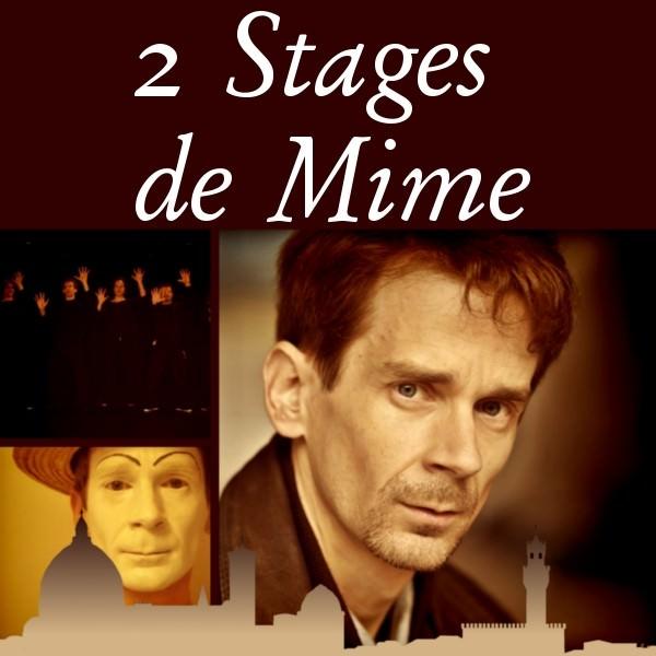 « 2 Stages de Mime »
