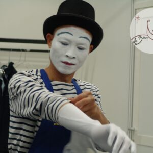 Animation Mime Suiveur Paris Roland Garros