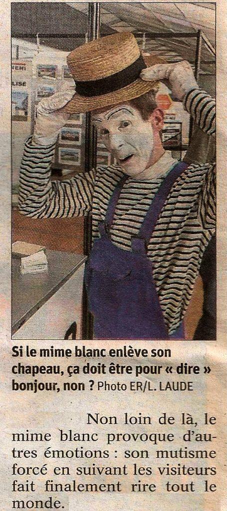 Mime Suiveur Pontarlier (L'Est Republicain-Ludovic-Laude)
